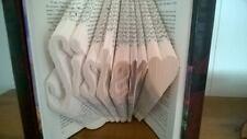 Sister <3 Folded Book Art sister gift sister love - UNIQUE Birthday Gift! Sis