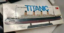 The Late Great Titanic 1/350 Precise Scale Model Kit Vintage NOS
