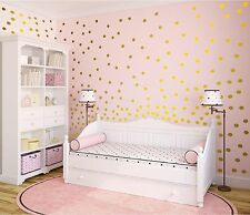 "2"" Inch Vinyl Polka Dots Wall Sticker Polka Dots Wall Decor - Confetti Decal"