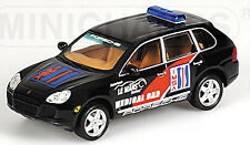 PORSCHE CAYENNE TURBO IMSA MEDICAL CAR LE MANS 2003 ALMS 2003 1:43 MINICHAMPS