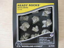 "N/HO - Woodland Scenics - ref.C1142 - 22 rocas ""boulders"""