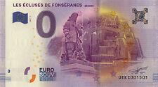 BILLET 2017 ZERO 0 EURO SOUVENIR 34 BÉZIERS NO BANKNOTE COIN JETON MONNAIE TOKEN