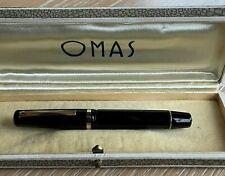 """Penna stilografica """"OMAS EXTRA""""  pennino Extra Lucens 14kt """"F"""". FOUNTAIN PEN"""