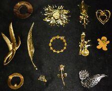 Vintage Lapel Pin Lot Of 13
