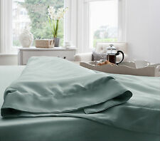 Jasmine Silk 100% 19MM Charmeuse Silk Duvet Cover (Duck egg) - SINGLE