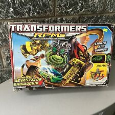 Transformers RPMs Constructicon Devastator Showdown Track Set#NIB