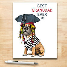 BEST GRANDDAD EVER - 100 Page Lined Notebook - Cover Code 2220