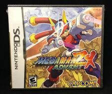 Mega Man ZX Advent  (Nintendo DS, 2007) Brand New / Region Free