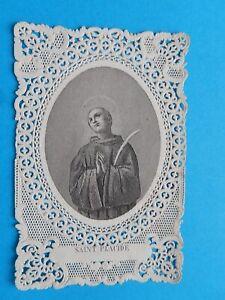 IMAGE PIEUSE CANIVET  HOLY CARD   MARTYR  SAINT PLACIDE DE SUBIACO BENEDICTIN