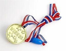 24 x Childrens Sports Day Race Gold Winners Medals Prizes Awards Toys T02 700