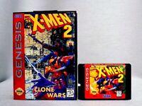 X-Men 2: Clone Wars Sega Genesis Mega Drive.