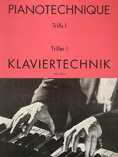 Klaviertechnik - Triller I