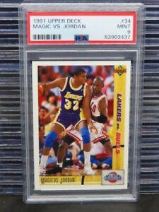 1991-92 Upper Deck Magic VS. Jordan Classic Confrontation #34 PSA 9 (37) D260
