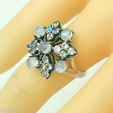 Mondstein  Moonstone Ring Gr 54 Silber 925 ANTIK STYLE  Sterlingsilber