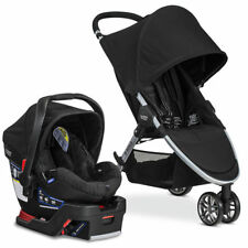 Britax 2017 B-Agile 3 B-Safe 35 Travel System Stroller Car Seat Baby Infant Kids