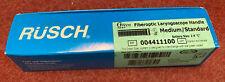 Rusch Fiberoptic Laryngoscope Handle Medstandard Reference 004411100 New