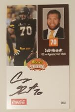 Brian O'Neill Pittsburgh Autographed 2018 Reese's Senior Bowl Card Signed