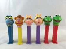 The Muppets Pez Dispensers - Set of 6 With Variants Kermit Piggy Gonzo Fozzy