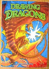 Drawing Dragons Jim Hansen Kids Easy to Follow Steps HOW TO DRAW Colorful Book