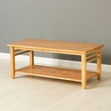 Oxford Light Coffee Table / Solid Hardwood Coffee Table / Oak Style Lounge Table