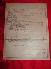 LVRR - Arrangement of Water Crane Piping - Ithaca, N Y - Buffalo Division - 1939