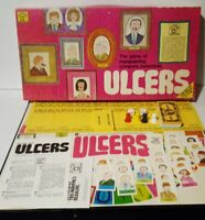 Ulcers Board Game VINTAGE 1974 - Manipulating Company Personnel - Complete