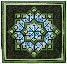Starburst Star Pieced Dereck Lockwood Quilt Pattern
