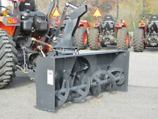 "NEW MK MARTIN METEOR SNOW BLOWER, 54"",  PTO DRIVE, 3 POINT HITCH, MANUAL SPOUT"