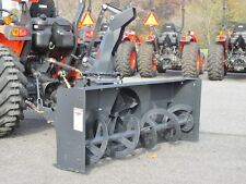 "NEW MK MARTIN METEOR SNOW BLOWER, 60"",  PTO DRIVE, 3 POINT HITCH, MANUAL SPOUT"