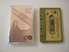 CAROLE KING MUSIC CASSETTE TAPE 1972 PAPER LABEL A&M ODE UK