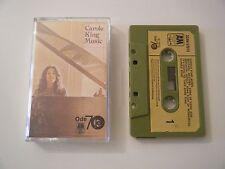 CAROLE KING MUSIC CASSETTE TAPE 1972 PAPER LABEL A&M ODE UK