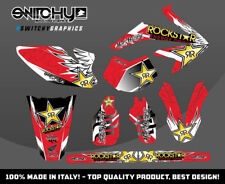 KIT ADESIVI GRAFICHE WINGS RED HM DERAPAGE 50 COMPETITION  2011 - 2015 DECALS