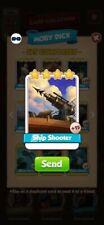 Coin Master Cards Ship Shooter 10X