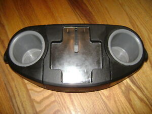 GRACO Jogging Stroller Replacement Parent Tray Cup Holder Black Gray