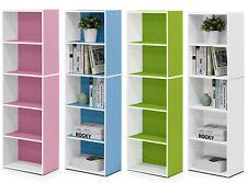 Furinno 5 Tier Open Shelf Bookcase - 130cm Tall