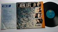 Real Life Flame Vinyl LP Record Album New Wave Synth-Pop Electronic 1985 Inner