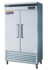 Turbo Air 35 Cu.Ft Reach-In Refrigerator 2 Solid Doors TSR-35SD