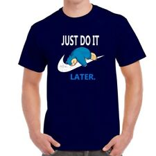 Just do it later funny Pokemon t shirt