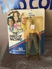 """MEGO 1980 DUKES of HAZZARD 8"""" BO POSEABLE FIGURE SEALED"""