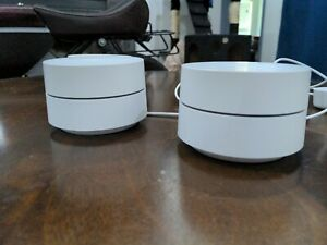 Google AC1200 1200 Mbps Dual Band Mesh Router - 2 Pack