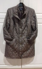size 14 top quality expensive DASH luxury diamond quilted COAT with 2 front pkts