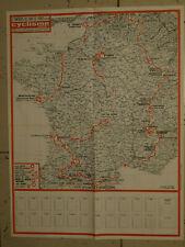 """TOUR DE FRANCE 1976  Spéciel TOUR avec Carte du Parcour  """"Cyclisme Magazine"""""""