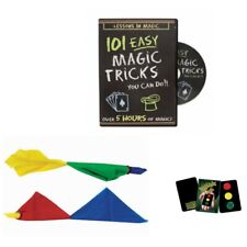 101 Easy Magic Tricks You Can Do! Color Changing Hanky and Stop Light Cards
