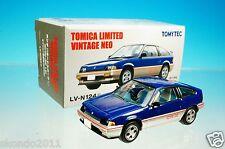 TOMYTEC TOMICA LIMITED VINTAGE NEO LV-N124c HONDA BALLADE SPORTS CR-X 1.5i 1/64