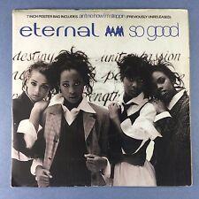 Eternal - So Good / Ain't No How I'm Steppin - EMI EM-339 POSTER SLEEVE Ex