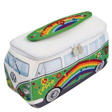 Oficial VW Caravana Impermeable Grande de mujer neceser de baño - Verde