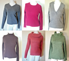 LOT 6 Sweaters Express B Moss NY and Co The Limited  Gently Worn Wool Small