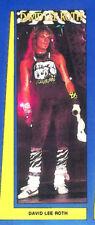 """David Lee Roth Van Halen Vintage Original Door Size Poster Mint- New 26"""" x 76"""""""