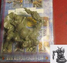 Micro Art M00202 Dwarf Goldar the Warrior (1) 54mm Miniature Fighter Champion