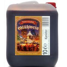 Glühwein Hüttenglut 10 Liter Kanister 8,9% vol. trinkfertig Weihnachtsmarkt